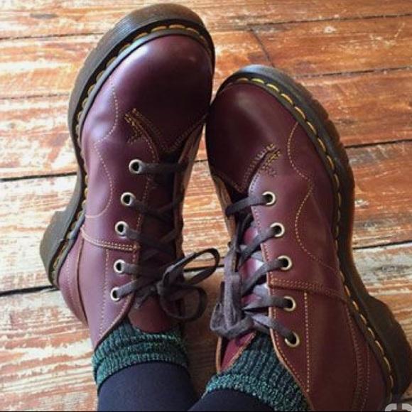 d11d0a70da8 Original Dr. Marten Church Vintage Ankle Boots